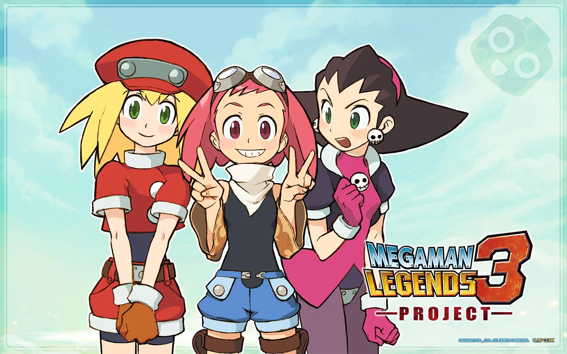 Megaman Legends Wallpaper